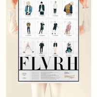 FLAVORICH 2014 SS / POSTER CATALOGUE