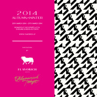 Flavorich 2014AW / invitation